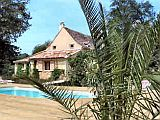 Comfortable House with Private Pool near Bergerac in the Dordogne