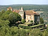 12th Century Château with pool between Figeac and Cahors in the Lot
