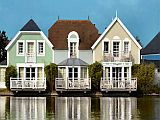 Houses and Apartments beside a lake and golf course near Le Touquet